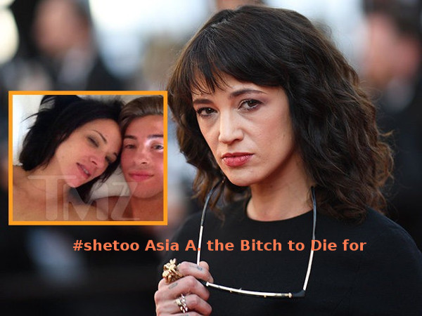 # Asia Argento the Bitch to die for
