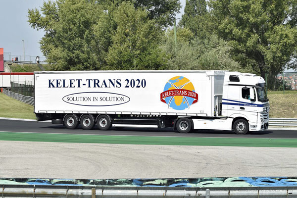 Kelet Trans 2020 Limited moves Your Life with handy Markus Trans